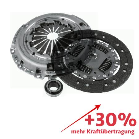 Verstärkte Kupplung (KIT) - ca. 30% mehr Kraftübertragung - 3000244001-3000V