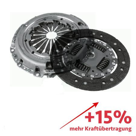 Verstärkte Kupplung (KIT) - ca. 15% mehr Kraftübertragung - 3000950726-1861V